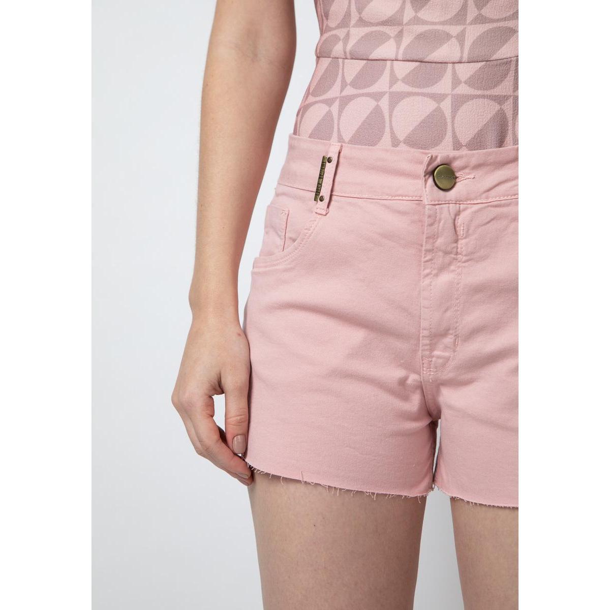Short Slim Comfort Lança Perfume Feminino - Rosa