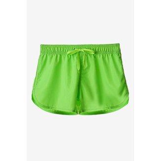 Short Tactel Verde