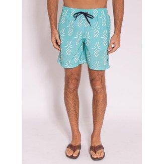 Shorts Aleatory Estampado Led - Masculino