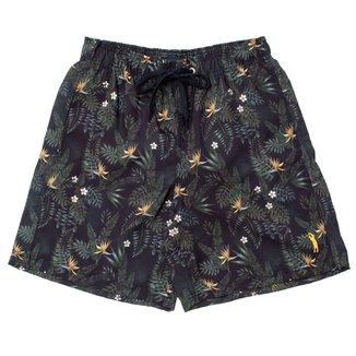 Shorts Aleatory Estampado Plus Masculino
