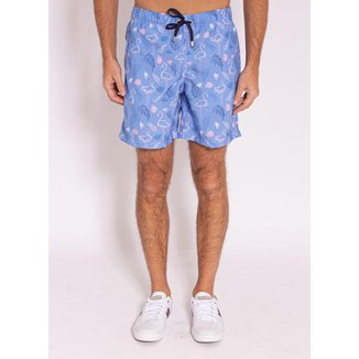 Shorts Aleatory Estampado Soft - Masculino