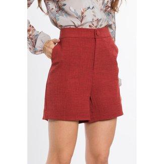 Shorts Alfaiataria Feminino