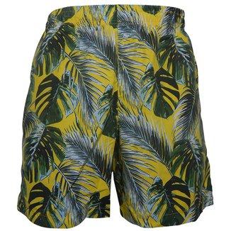 Shorts Alma de Praia com Cordao Sleeves Masculino
