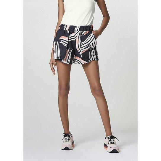 Shorts Athleisure Feminino - Azul
