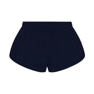 Shorts Básicos Infantil Rovitex Azul 12
