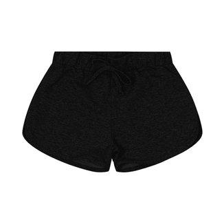 Shorts Básicos Infantil Rovitex Preto 1