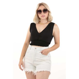 Shorts Billie Sarja Hanks Bl Feminino