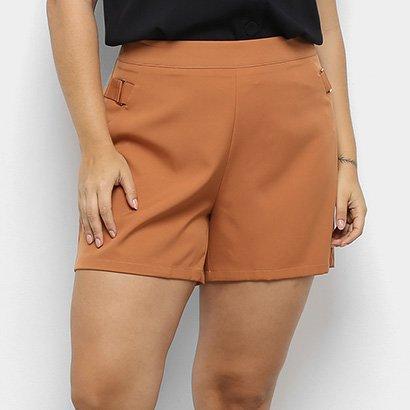 Shorts City Lady Fivela Feminina