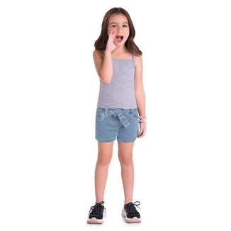 Shorts Clochard Brandili Clochard Jeans Confort Infantil