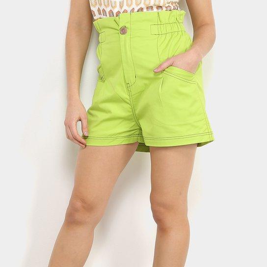 Shorts Colcci Clochard Feminino - Verde claro