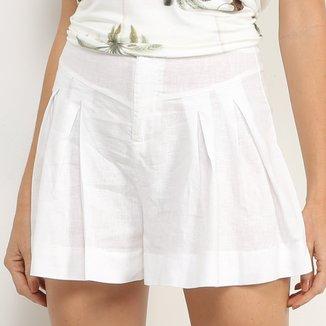Shorts Colcci Linho Feminino