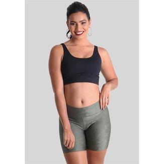 Shorts Curto Texture Praaiah Feminino