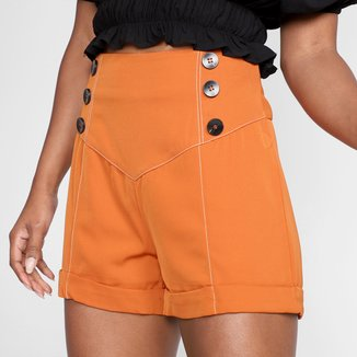 Shorts Eagle Rock Core Cintura Alta Feminino