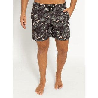 Shorts Estampado Aleatory Jungle Masculino