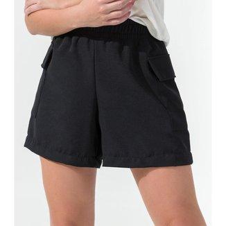 Shorts Feminino Berlin Rovitex Preto P