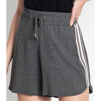 Shorts Feminino Cintura Alta Endless Cinza M