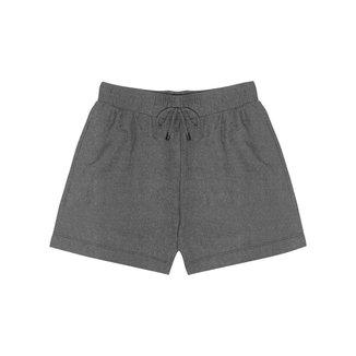 Shorts Feminino Comfy Rovitex Cinza M