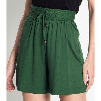 Shorts Feminino Comfy Rovitex Verde P