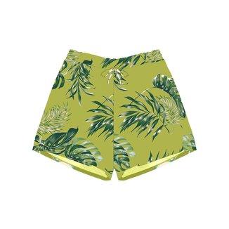 Shorts Feminino Estampado Rovitex Verde P