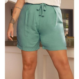 Shorts Feminino Plus Size Secret