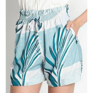 Shorts Feminino Tiffany Rovitex Azul GG