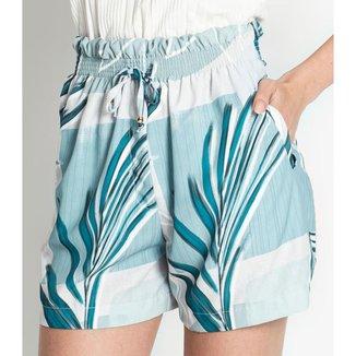 Shorts Feminino Tiffany Rovitex Azul M