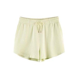 Shorts Hering Curto Algodão com Amarrração Feminino