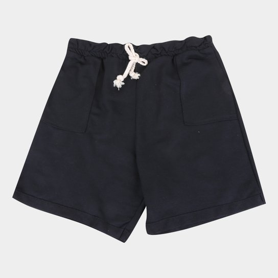 Shorts Infantil Costão Clochard Feminino - Preto