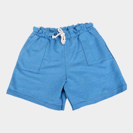 Shorts Infantil Costão Clochard Feminino - Roxo