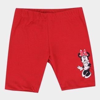 Shorts Infantil Disney Minnie Shame Feminino