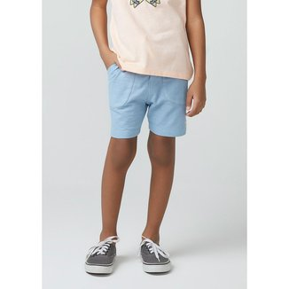 Shorts Infantil Hering em Malha Texturizada