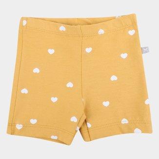 Shorts Infantil Hering Kids Feminino