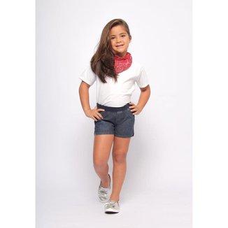 Shorts Infantil MRX Jeans Feminino