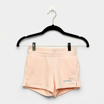 Shorts Infantil Puma Ess+ Feminino