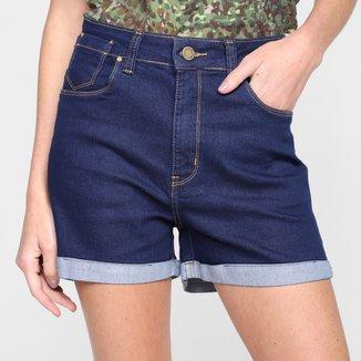 Shorts Jeans Al Is Love Amaciado Feminino