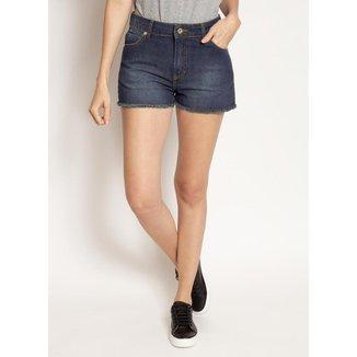 Shorts Jeans Aleatory Feminino Treasure