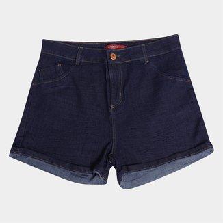 Shorts Jeans Biotipo Liso Feminino