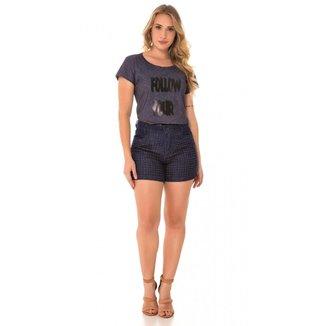 Shorts Jeans Express Hot Libelula Feminino