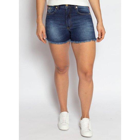 Shorts Jeans Feminino Aleatory Power - Azul