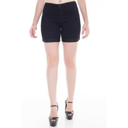 Shorts Jeans Jeans Eventual Middle Mid Rise-Feminino