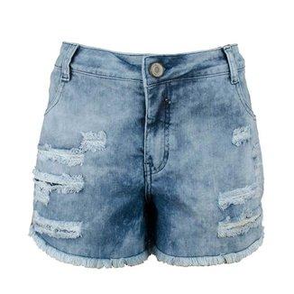 Shorts Jeans KNT Desfiado