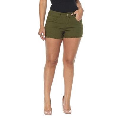 Shorts Jeans Osmoze Ease Musgo  Feminino-Feminino