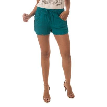 Shorts Jeans Osmoze Sport Feminino-Feminino