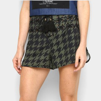 Shorts Lança Perfume Low Comfort Cintura Alta Feminino