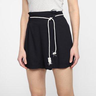 Shorts Lunender Rayon Amarração Feminino