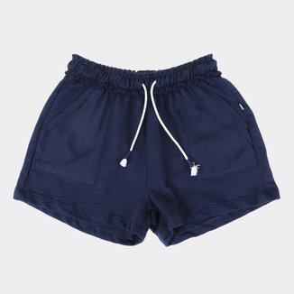 Shorts Moletinho Infantil Hering Kids Feminino