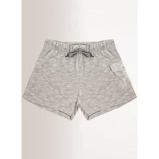 Shorts Moletom Aleatory Feminino
