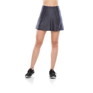 Shorts Mulher Elástica Saia Fitness Elástic Basic Feminino