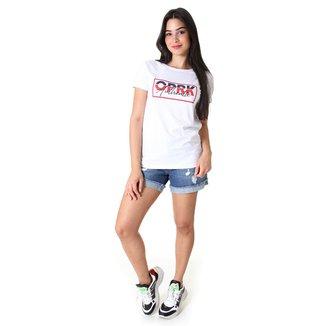 Shorts Opera Rock Jeans Feminina