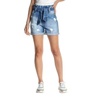 Shorts Osmoze Mom 204124216 Azul - Azul - 48